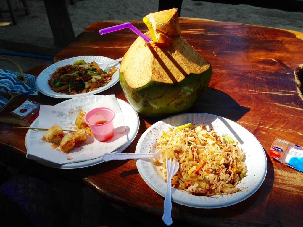 Thai roadside food