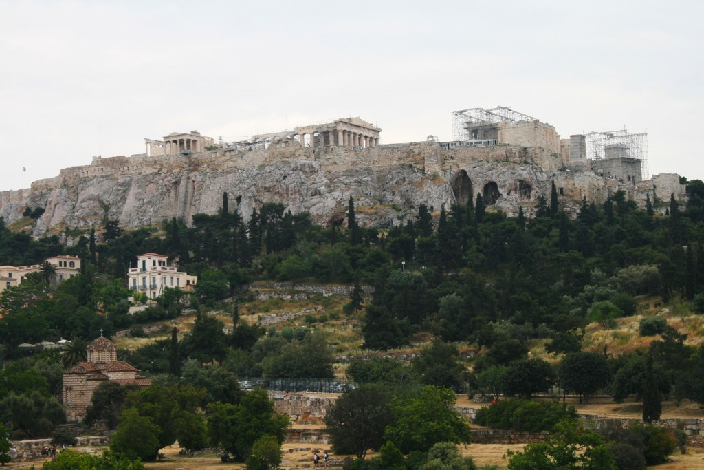 Acropolis from afair