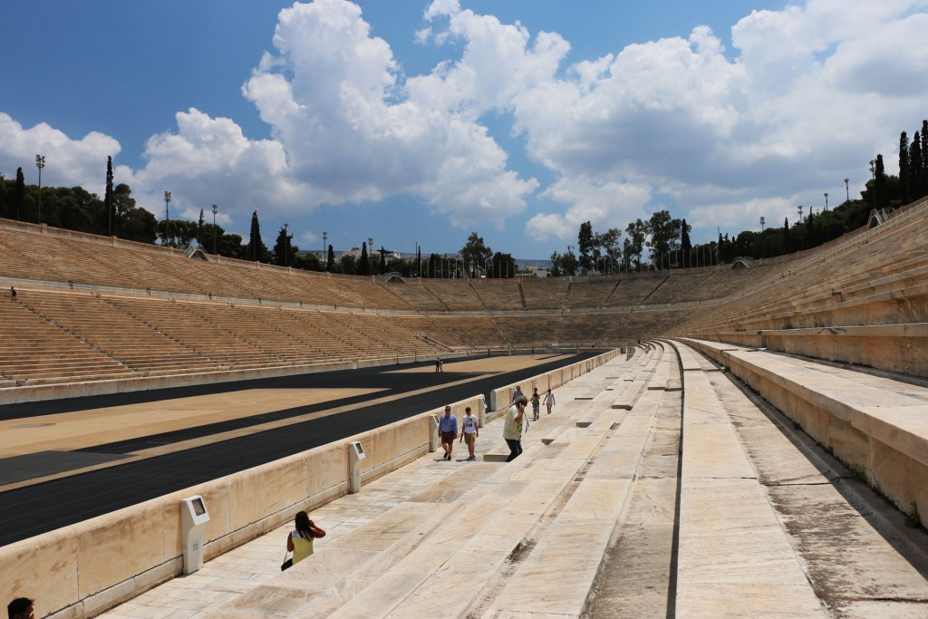 Inside Olympic Stadium Athens