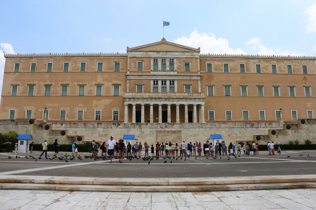 Syntagma Square Greek Parliament Building